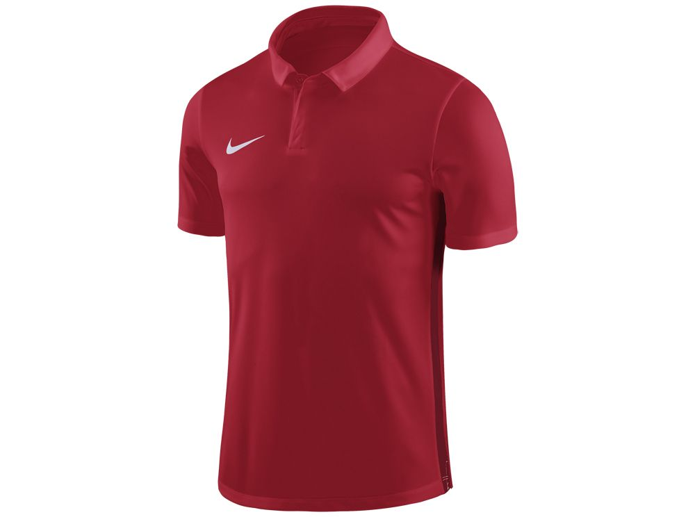 sale retailer 79586 4a1fc Nike Academy 18 Football Polo Shirt University Red Gym Red