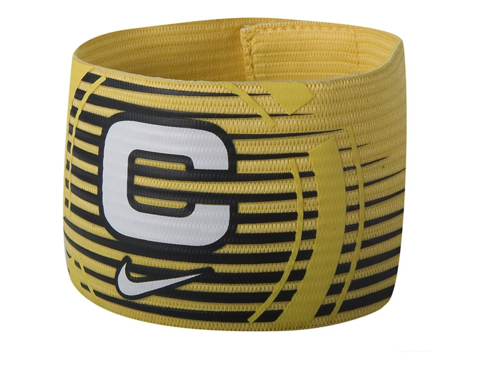 fashion style for whole family top design Nike Football Captain Armband Yellow