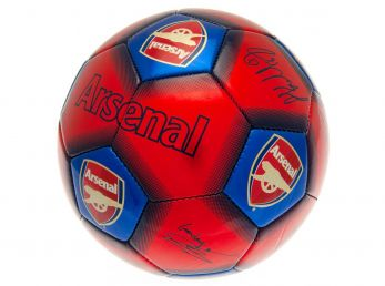 Arsenal Signature Ball Size 5 Red Blue