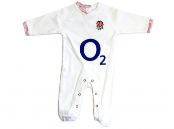 England RFU Rugby Sleep Suit