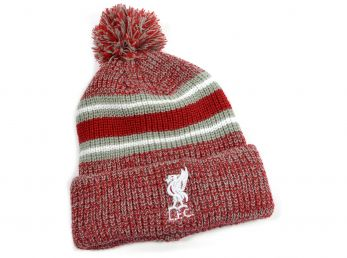 Liverpool Cobble Cuff Knit Hat Red