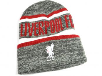 Liverpool Whitaker Grey Turn Up Hat